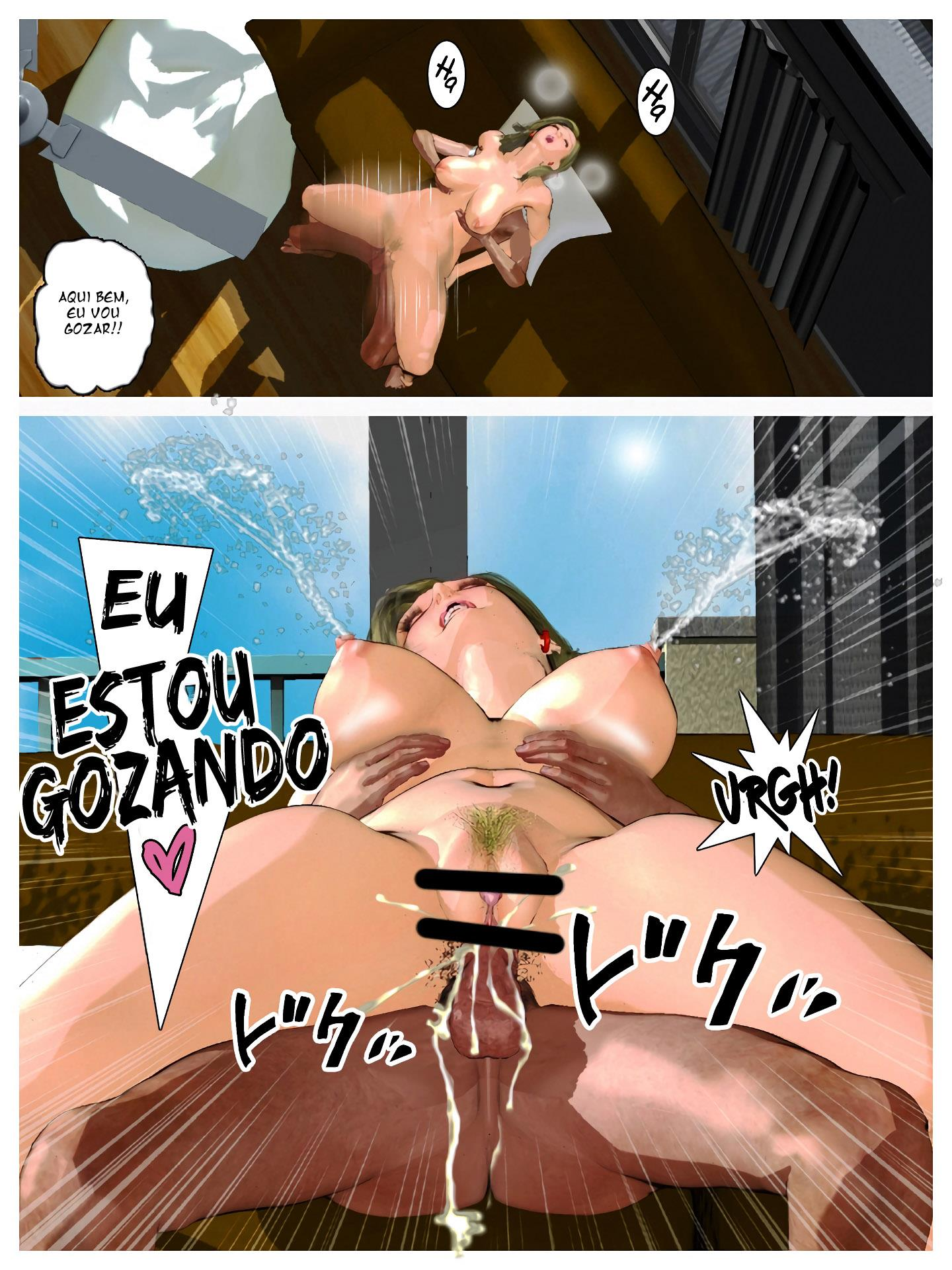 Androide 18 a boneca sexual