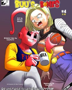 Dragon Ball Hentai – Os corpos de Buu 03