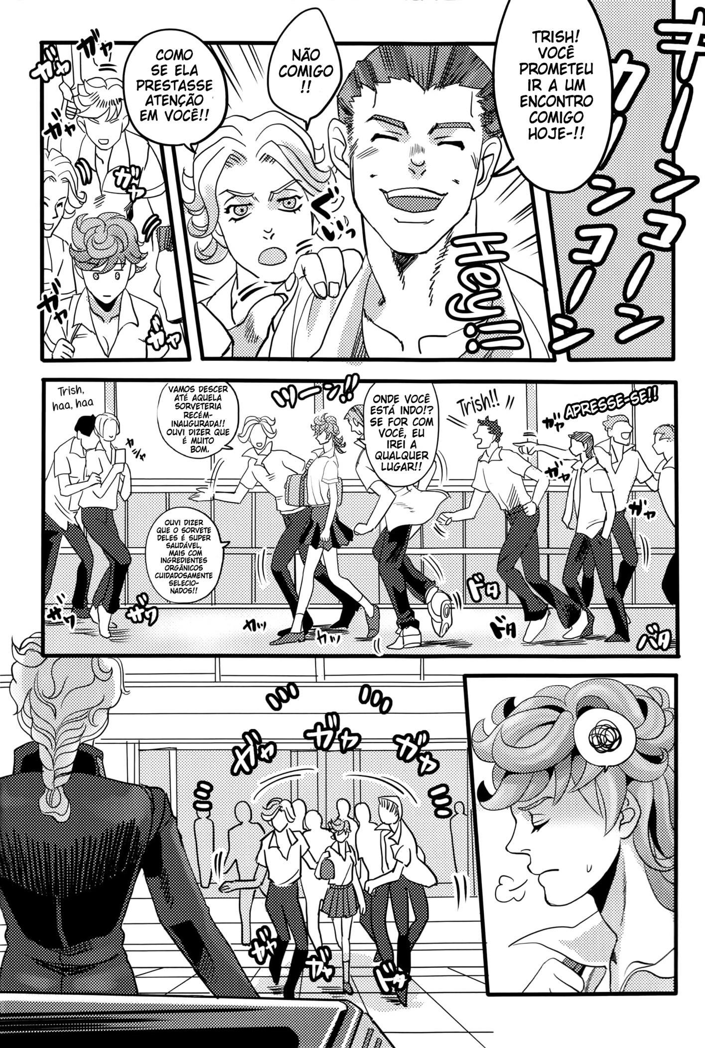 JoJo's Bizarre Adventure Hentai: Giorno x Trish