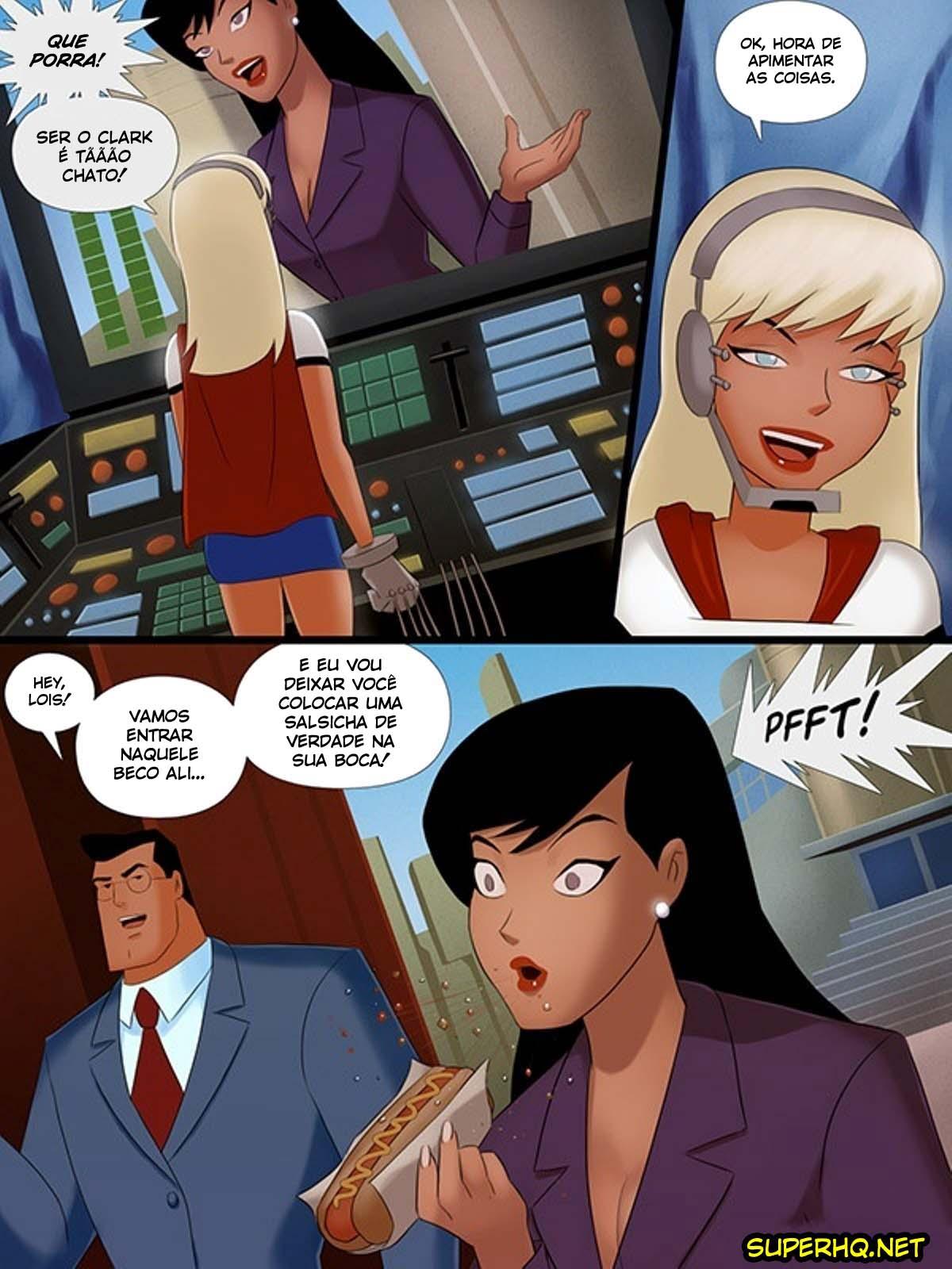 Lois Lane fode no beco escondido