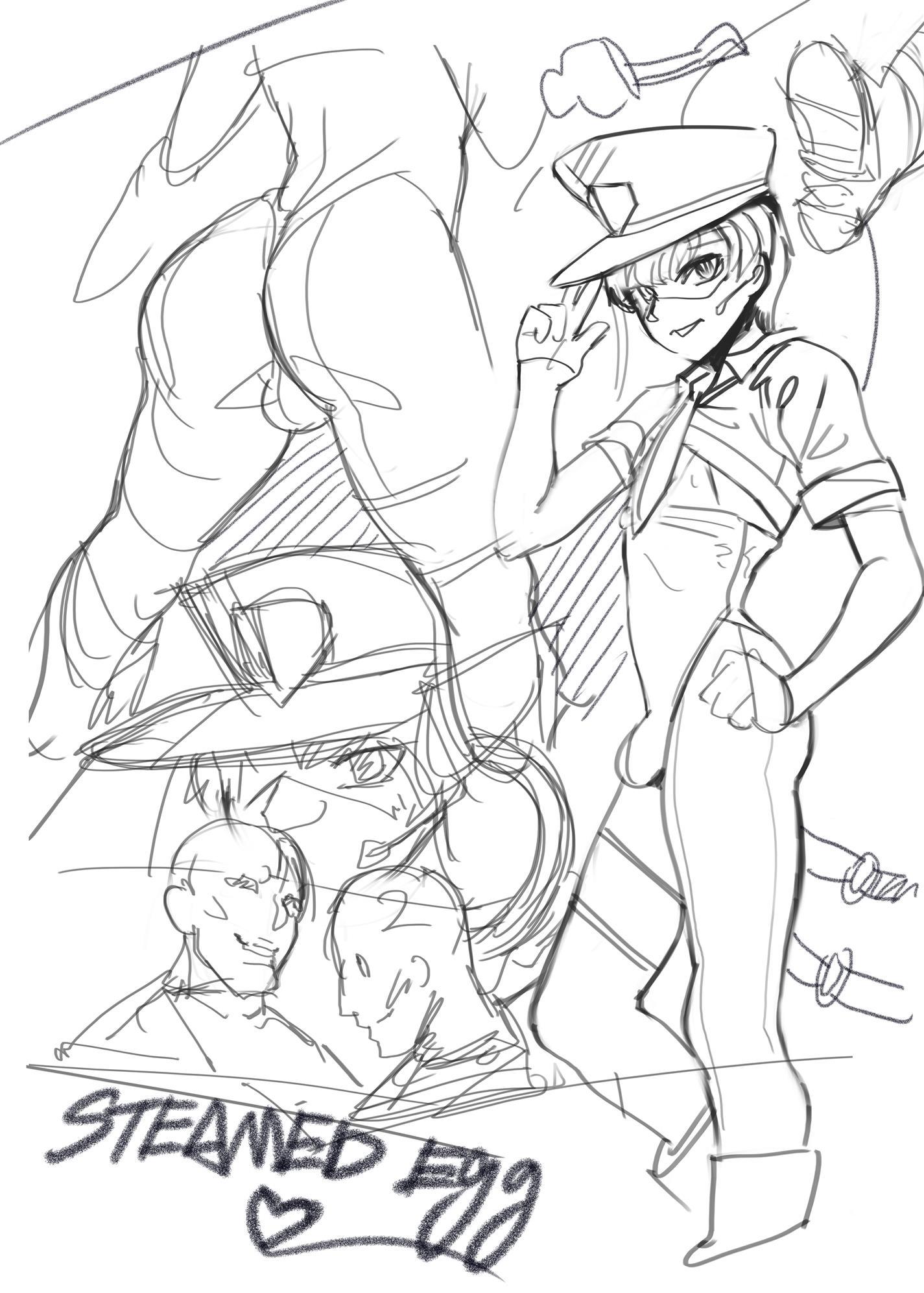 O garoto de uniforme