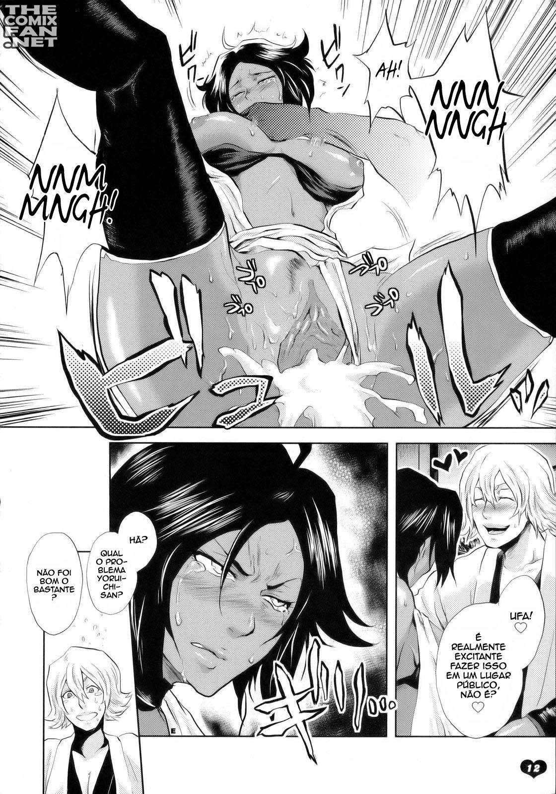 Teste de resistência sexual da Yoruichi